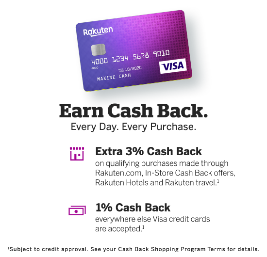 Visa Credit Card Login >> Manage Your Rakuten Credit Card Account